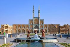 Photo about Amir Chakhmaq Square in Yazd,Iran. Image of asia, square, statue - 35192672 Iran, Building Renovation, Nuclear Deal, Tourism Industry, Culture, Tour Operator, Cn Tower, Statue Of Liberty, Taj Mahal