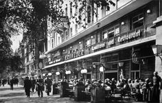 Kurfürstendamm 18, Café Kranzler, 1935