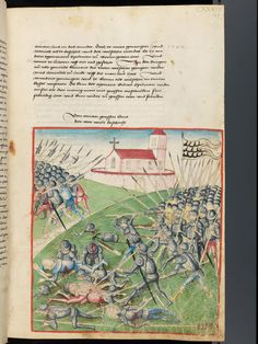 Bern, Burgerbibliothek, Mss.h.h.I.1, f. 269 – Diebold Schilling, Amtliche Berner Chronik, vol. 1
