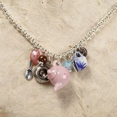 Teapot Necklace | Gifts for Tea Lovers