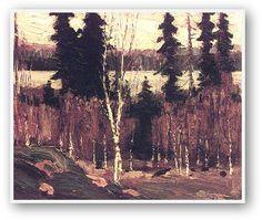 Tom Thomson Clearing Algonquin Park, Canadian Group of Seven Winter Landscape, Landscape Art, Landscape Paintings, Landscapes, Abstract Paintings, Emily Carr, Canadian Painters, Canadian Artists, Group Of Seven Paintings