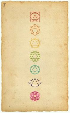 Chakras...I think whenever I start balding I'll have these added along my spine, in their proper places.
