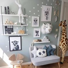 Fine Deco Chambre Jungle Bebe that you must know, You?re in good company if you?re looking for Deco Chambre Jungle Bebe Baby Bedroom, Baby Boy Rooms, Little Girl Rooms, Nursery Room, Girls Bedroom, Room Baby, Baby Decor, Kids Decor, Decor Ideas