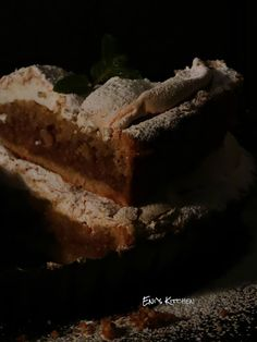 Eni´s Kitchen: Pastel de nueces con relleno de manzana, membrillo...