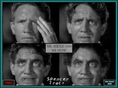 Spencer Tracy in Dr. Jekyll and Mr. Hyde - collage by Neil Smith