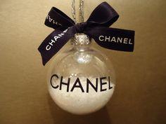 Chanel Christmas Ornament
