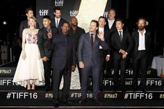 The Magnificent Seven cast at the Toronto International Film Festival 2016.