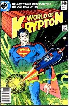Once upon a time, on a planet called Krypton, lived a mother & father & a baby named Superman. The planet Krypton was going to explode. The father was the greatest scientist & smartest man on the planet. Superman's dad knew a rocket would be needed to save them so he built one. When Krypton exploded, only Superman's rocket escaped. Because the rocket's power was limited, there was room only for baby Superman. The rocket landed on Earth & was found by a good couple named the Kents.