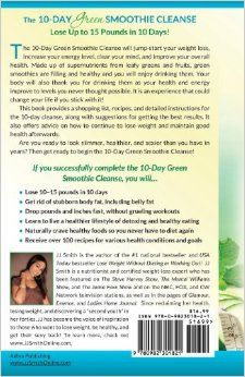 Wife on the run 10 day green smoothie cleanse by jj smith book 10 day green smoothie cleanse lose up to 15 pounds in 10 days green smoothiesjj smith fandeluxe Choice Image