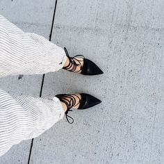 I have a weakness for pointed toe shoes of any kind