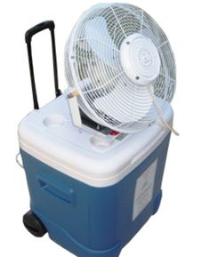 Stay Cool During The Hottest Summer Days With Our Portable Mist Cooler.  This Multipurpose Cooler