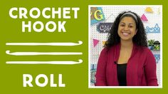 Crochet Hook Roll: Easy Sewing Craft with Vanessa of Crafty Gemini Creates