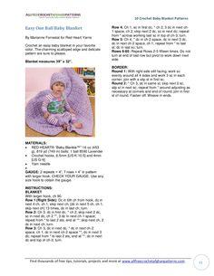 10 crochet baby blanket patterns e book