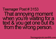 That happened to me once!!