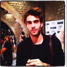 Jon Kortajarena at the Desigual catwalk, 080 Barcelona fashion