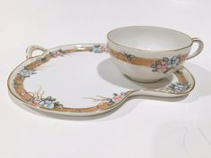 Nippon Snack Tray Tea and Toast Set Nippon Tea Cup and