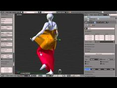 Using avastar/Blender to Rig and make mesh cloth ready for sl - YouTube