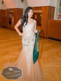 Miss Guam   posing during the evening gown parade as part of the activities of Miss Earth 2015 #Coverage #MissEarth2015 #BeautyPageant #Austria #ZarDeMisses #BeautiesForACause