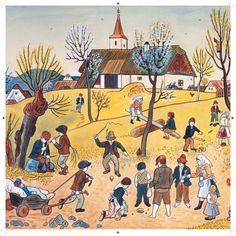 Josef Lada Impressionism, 18th Century, Illustrators, Cool Pictures, Clip Art, Portrait, Prague, Painters, Diana