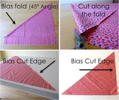 Technique: Understanding Bias and making Bias Tape   MADE