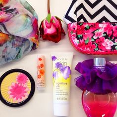 """""""Counting down til #Spring with some of our favorite #floral things! #beauty"""" -avoninsider instagram"""