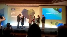 Funding Award Ceremony 2014 from Greece's Telephone Companies Ote & Cosmote Social Responsability Programs