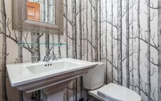 Nature Depicted On Your Walls – Birch Tree Wallpaper