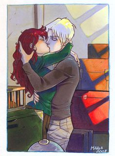 HP_kissing+goodbye+by+mary-dreams.deviantart.com+on+@DeviantArt