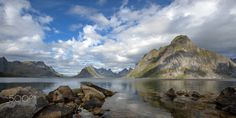 The Power of The North - The beautiful mountain ranges of Lofoten, Norway in all its splendor and glory! Lofoten, Mountain Range, Ranges, Norway, Water, Outdoor, Beautiful, Water Water, Aqua