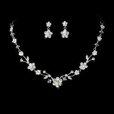Summer Wedding Jewelry Set - StressAwayBridalShop.com