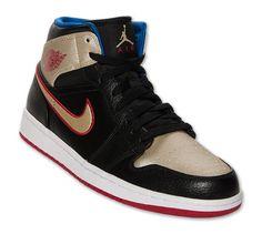 new style fd074 aae16 ... Retro Mid Detroit Pistons Game Royal Gym Red White 554724 407 Nike AIR  JORDAN 1 MID Baskets Homme 554724-603-42 - 8.5 Rouge  Air Jordan 1 Mid-  Black, ...