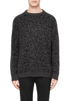 Weekday Leopold Sweater in Grey Dark