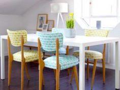 une chaise vintage relookée • Hellocoton.fr