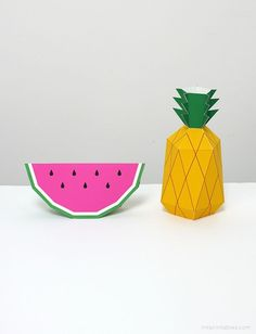 25 Pineapple Crafts & Free Printables {DIY Goodness} | Everything Etsy | Bloglovin'