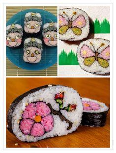 Assim seu sushi fica de comer com os olhos.