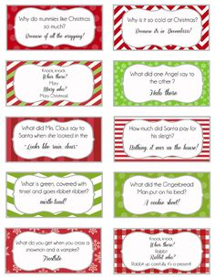 "Elf jokes to teach the kids so you don't have to hear ""knock knock"" ""who's there"" ""cash"" ""cash who"" ""no thanks, but I'll take a peanut"" for the 10,000. th time, haha."