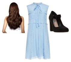 """""""Untitled #126"""" by samanthastyle-cdxxi ❤ liked on Polyvore featuring N°21, Dune, Hershesons, fashionset and casualformal"""