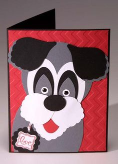 Punch Art Dog by kmgosha - Cards and Paper Crafts at Splitcoaststampers