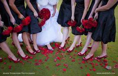 Red shoes + Red Roses - November Wedding  Wedding Gallery | GoIzzy by Marek Dziekonski Photography