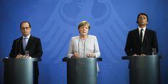 Le journal de BORIS VICTOR : Hollande, Merkel et Renzi en Italie pour parler…
