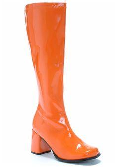 "Classic 1960's style side zipper boot. Measurements: - 3"" Heel - 18"" from heel to top of boot"