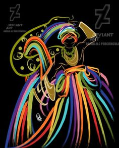 by Orádia N.C Porciúncula/ Licença Creative Commons 3.0 Atribuição - Uso Não-Comercial-Proibição de realização de Obras Derivadas CC BY-NC-ND Yoruba Orishas, African Mythology, Yoruba Religion, Divine Feminine, Feminine Energy, Feminine Mystique, Warrior Queen, Gods And Goddesses, Deities