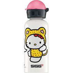 Deze aluminium fles van SIGG Kids wordt wel de Rolls Royce onder de drinkflessen genoemd. Met de lekvrije schroefdop ben je verzekerd van de bekende SIGG kwaliteit en een droge schooltas van je kindje. Deze SIGG kinder drinkfles heeft een inhoud van 0,4 liter en een anti-lek schroefdop. Met een vrolijke afbeelding van Hello Kitty. Deze drinkfles is gemaakt van Aluminium en afgewerkt in het Wit.   Afmeting: volgt later.. - SIGG Hello Kitty Cheetah Costume 0.4L clear