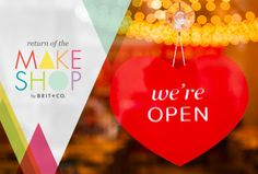 Hey, SF! Stop by the MakeShop, a place where you can make and shop, all under one roof.
