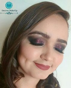 Maquiagem de ontem. Madrinha de Casamento s2  Ficou lindissima ;) #Makeup #madrinha #casamento