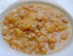 Asopaipas. Recetas de Cocina Casera                                                               .: Cocido de Garbanzos en Blanco
