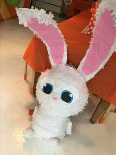 Secret life of pets pinata bunny snowball