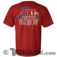 TGI Greek - Pi Kappa Alpha - Fall Bid Day
