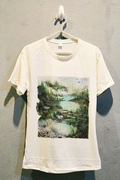 Bon Iver T-Shirt Tee Shirt Punk Rock Women T Shirts Off White TShirt Size S