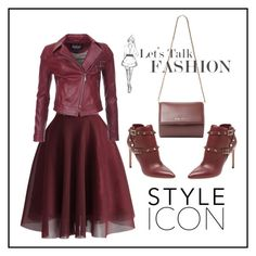 """J"" by ena07-dlxx ❤ liked on Polyvore featuring Chicwish, Barbour International, Valentino and Givenchy"